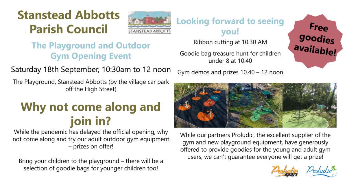 Playground Event Poster