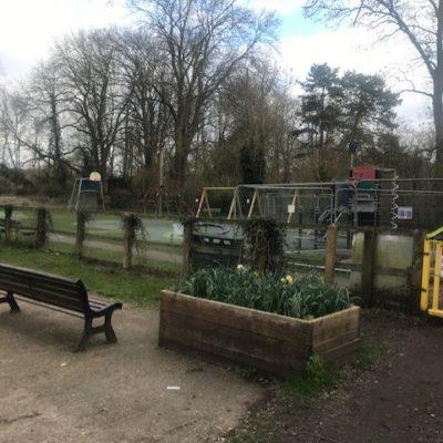 Playground During Improvements