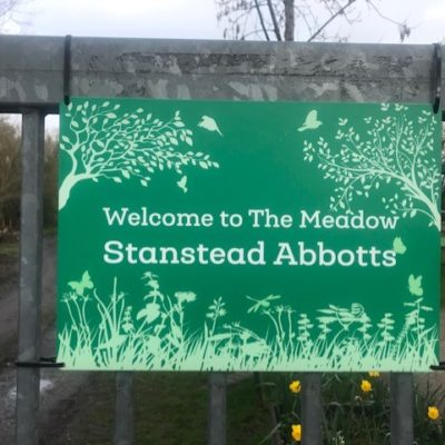 The Meadow Sign