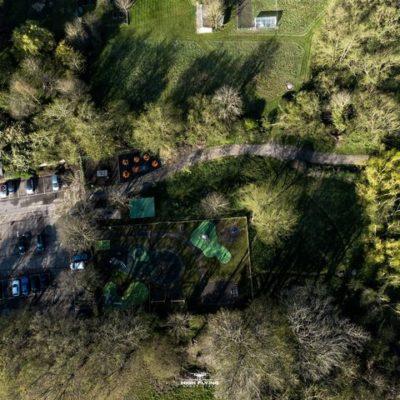 Aerial Gym Playground And Car Park